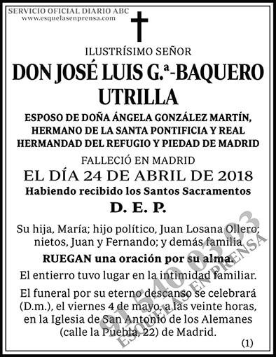 José Luis G.ª-Baquero Utrilla